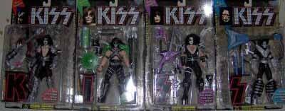 McFarlane KISS Ultra Action Figure w/ Letters Set C-7