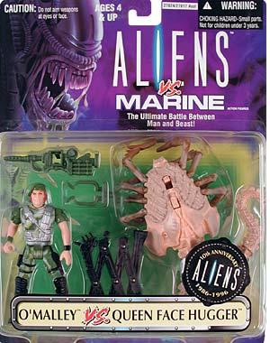 Aliens OMalley vs Face Hugger