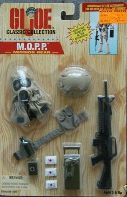 GI Joe M.O.P.P. Mission Gear