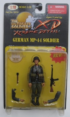 21st Century Ultimate Soldier Extreme Detail 1:18 Series 1 German MP-44 Soldier