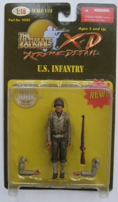 21st Century Ultimate Soldier Extreme Detail 1:18 Series 1 U.S. Infantry