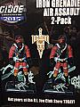 G.I. Joe Con 2015 Iron Grenadier Assault Trooper 2 Pack