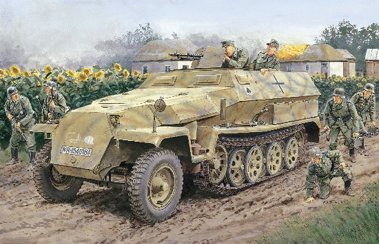 Dragon 1/35 Sd. Kfz. 251 Ausf. C (Half Track)
